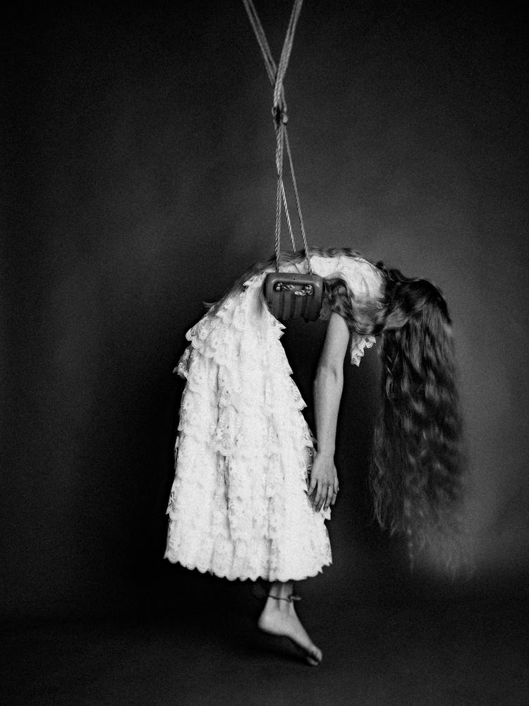 A piece of fine art art photography titled Mondaze by Holger Nitschke