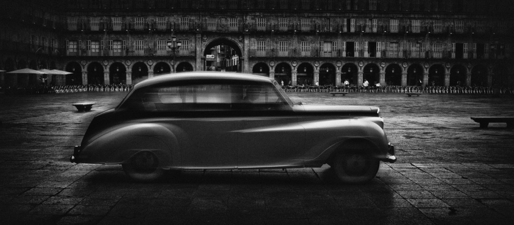 A piece of fine art art photography titled Al Capone In Salamanca by Jose C. Lobato