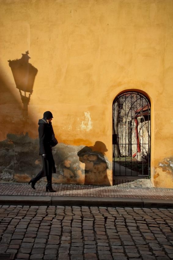 A piece of fine art art photography titled Mala Strana by Stefano Corso