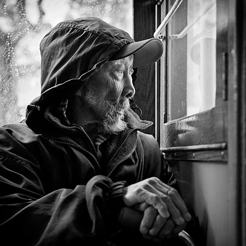 A piece of fine art art photography titled Chinese Man by Dabow