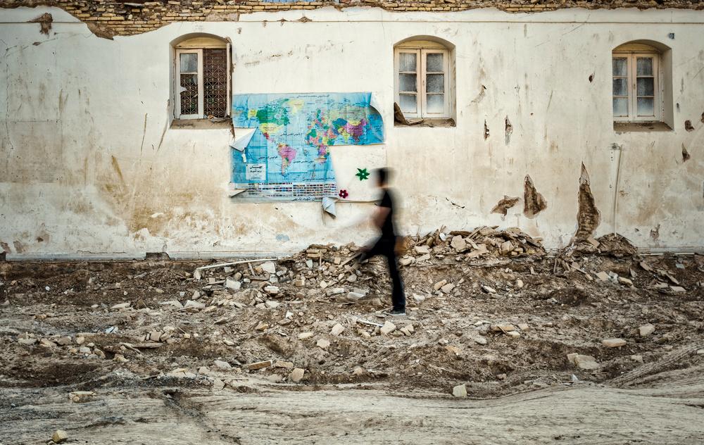 A piece of fine art art photography titled Migration by Babak Mehrafshar (Bob)