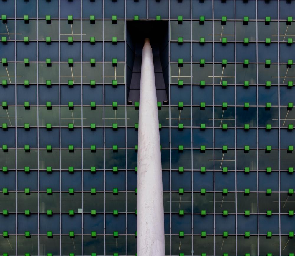 A piece of fine art art photography titled Building by Jef Flour