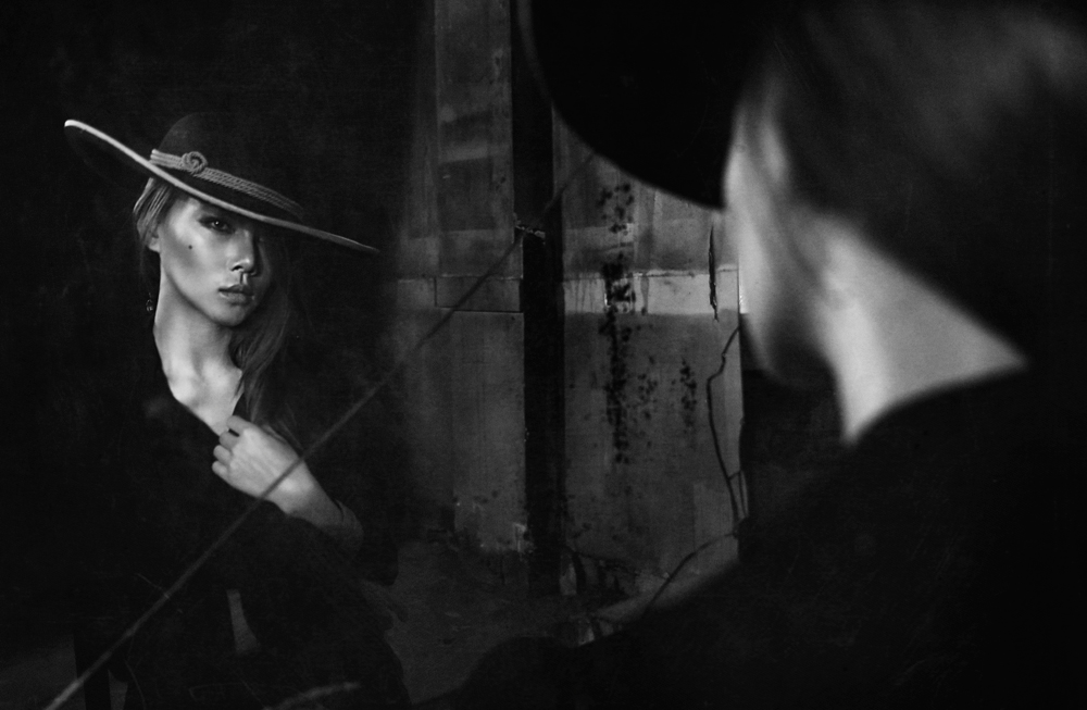 A piece of fine art art photography titled The Mirror by Abr abe