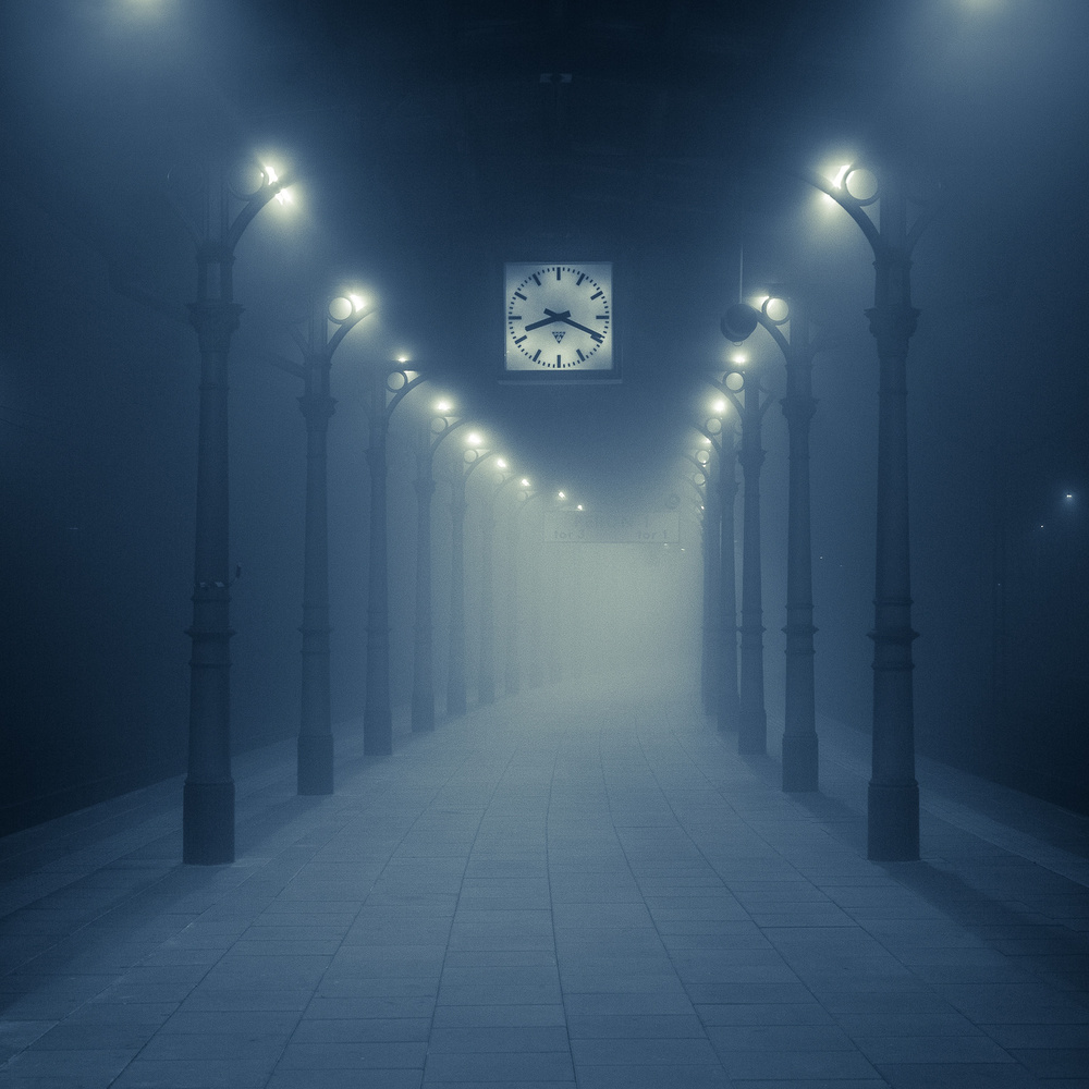 View this piece of fine art photography titled Moody station II by choi sung jin