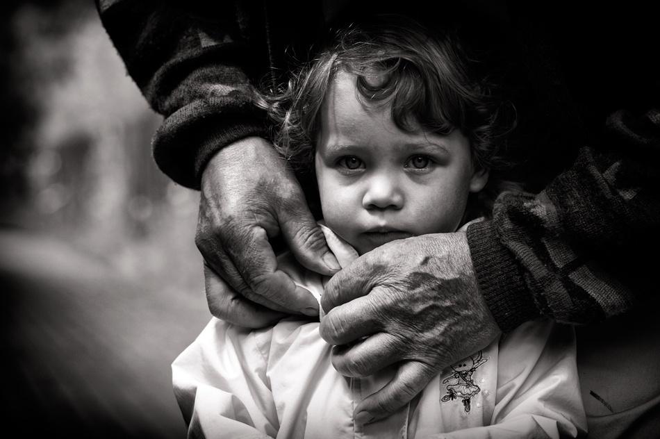 A piece of fine art art photography titled Contrast by bacek