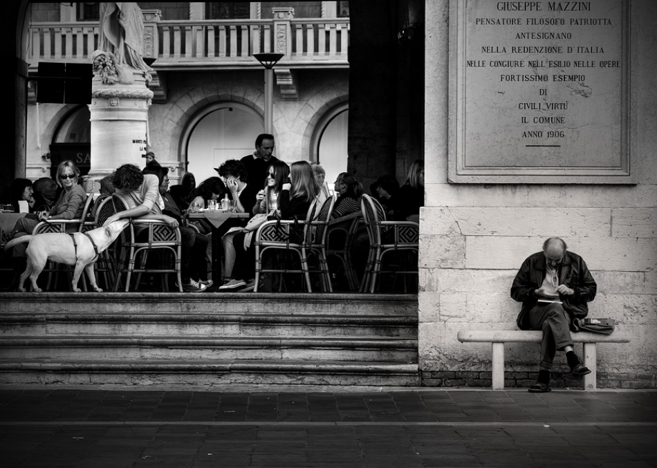 A piece of fine art art photography titled For Many People, but Not for Everyone by Paolo Ordigoni