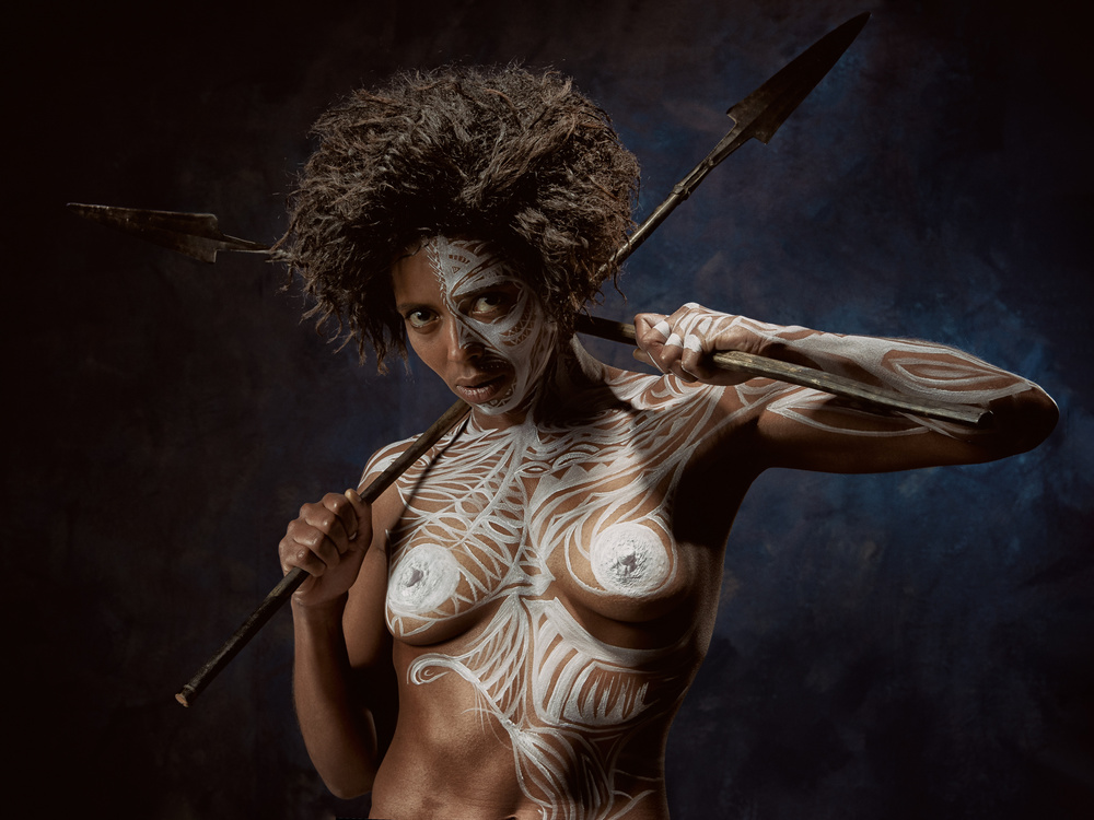 View this piece of fine art photography titled Tribal project by Ross Oscar