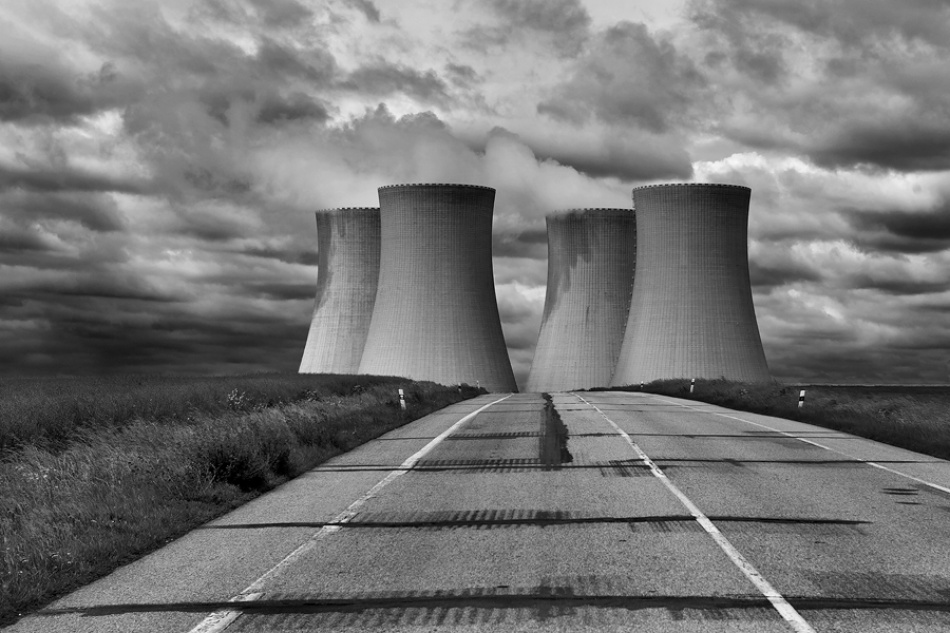 A piece of fine art art photography titled Atomic Age by Jure Kravanja
