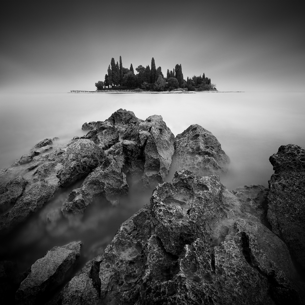 A piece of fine art art photography titled Island by Daniel Řeřicha