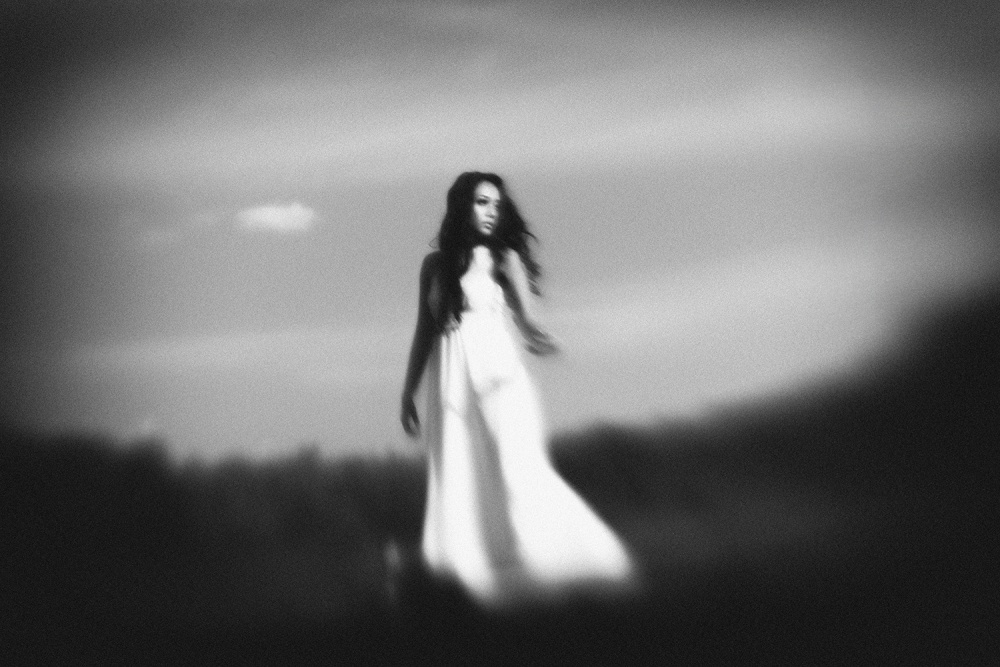 A piece of fine art art photography titled White Reverie by Hengki Lee
