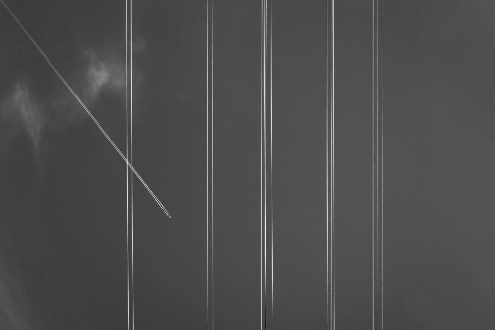 A piece of fine art art photography titled Cross the Line by Carlos_Grury_Santos