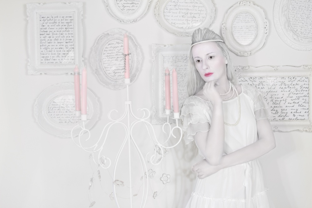 A piece of fine art art photography titled Porcelain Doll by Stefan Amer