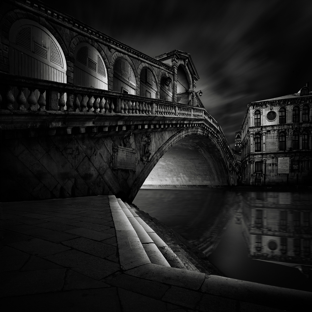 A piece of fine art art photography titled Ponte Di Rialto by Haggard