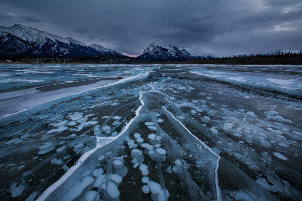 A piece of fine art art photography titled Breaking Ices by Donald Luo