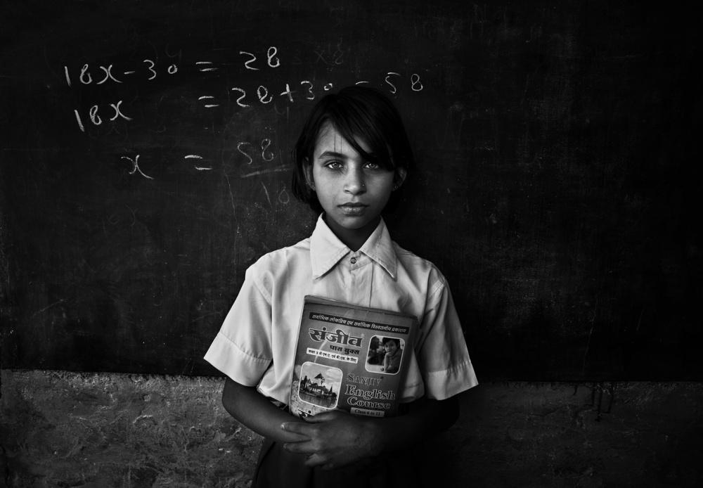 A piece of fine art art photography titled Aysha by Fadhel Almutaghawi