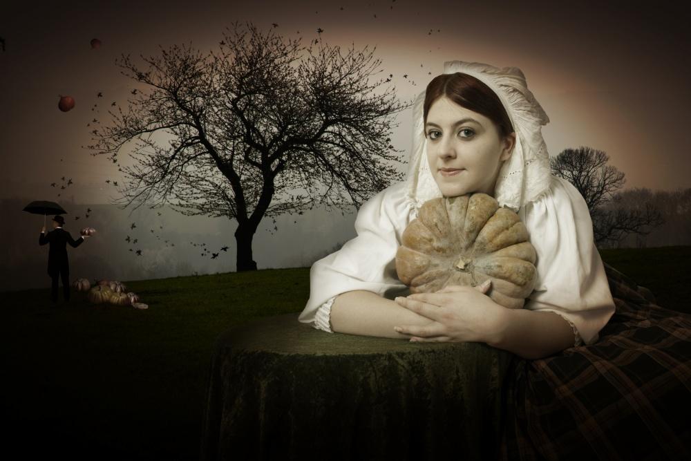 A piece of fine art art photography titled Autumn by Christine von Diepenbroek