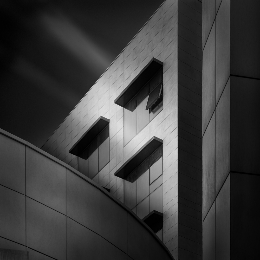 A piece of fine art art photography titled Musical Architecture II by Kerstin Arnemann