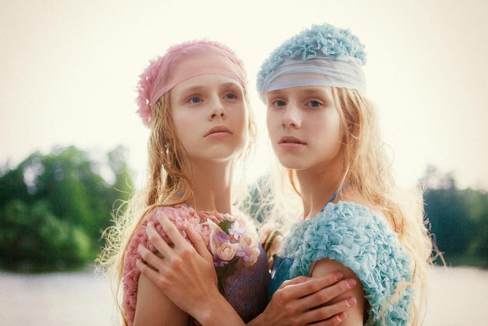 A piece of fine art art photography titled Olya & Vera by Bogdan Semenov