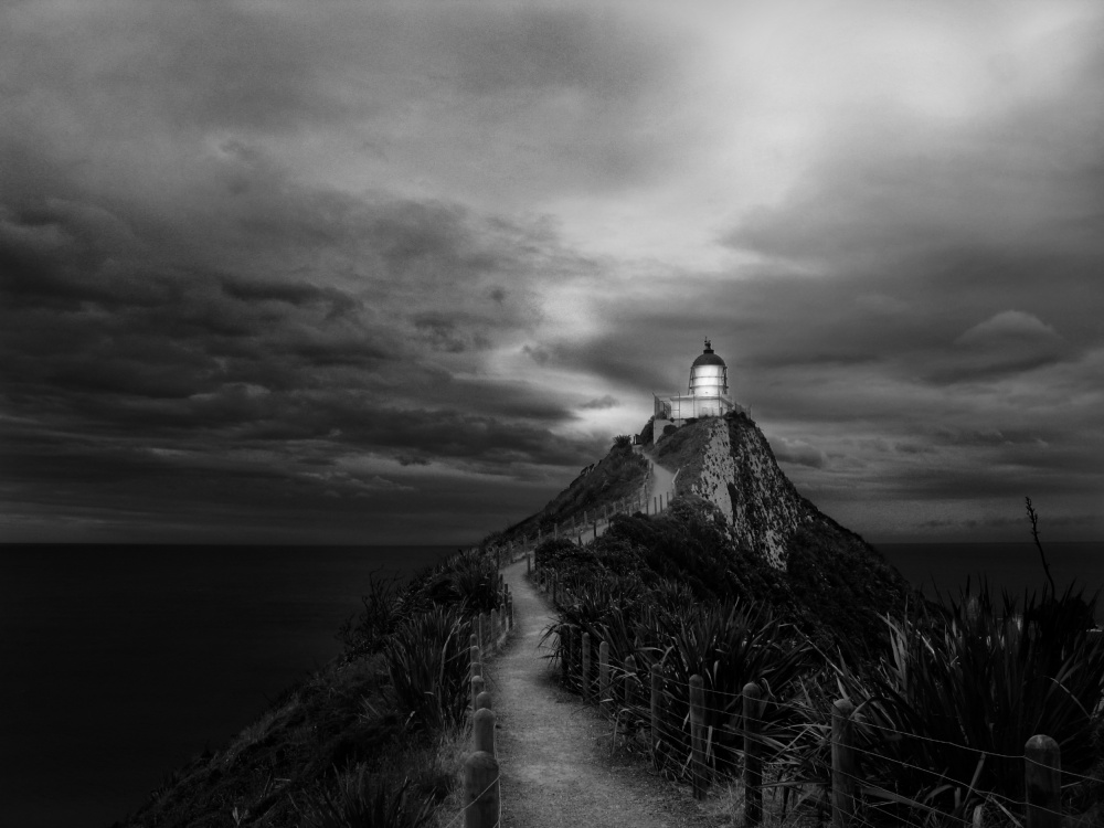 The path to the light