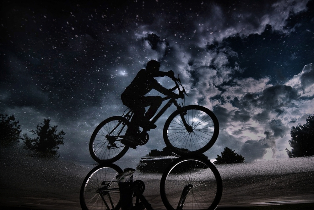 A piece of fine art art photography titled Reflected In the Stars by Antonio Grambone