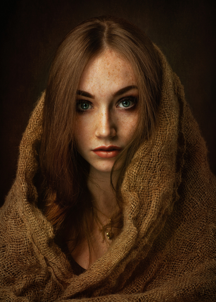 A piece of fine art art photography titled Kasia by Zachar Rise