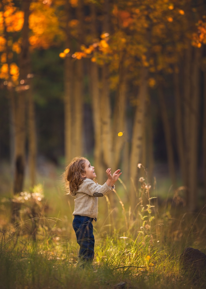 A piece of fine art art photography titled Catch Me If You Can! by Lisa Holloway