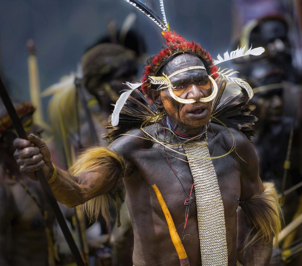 Warrior of Papua