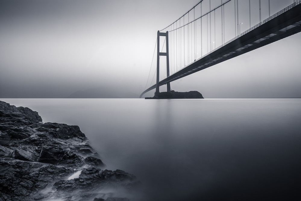 A piece of fine art art photography titled Bridge by hershin