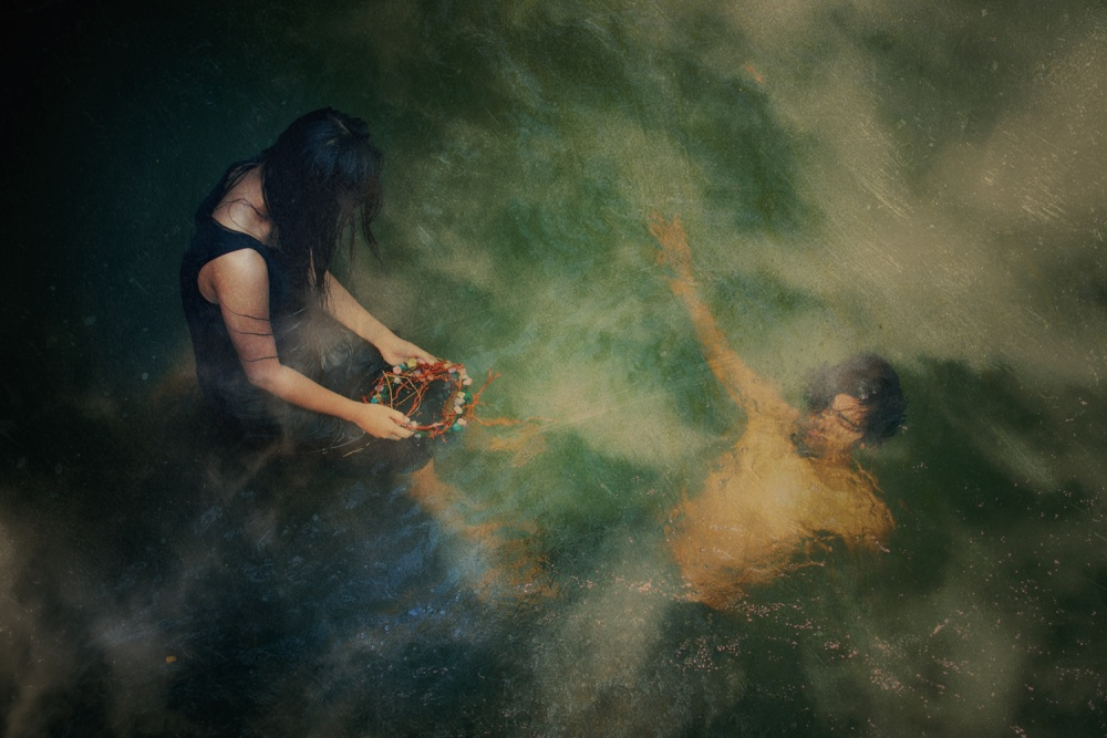 A piece of fine art art photography titled The Hallucinations by jay satriani
