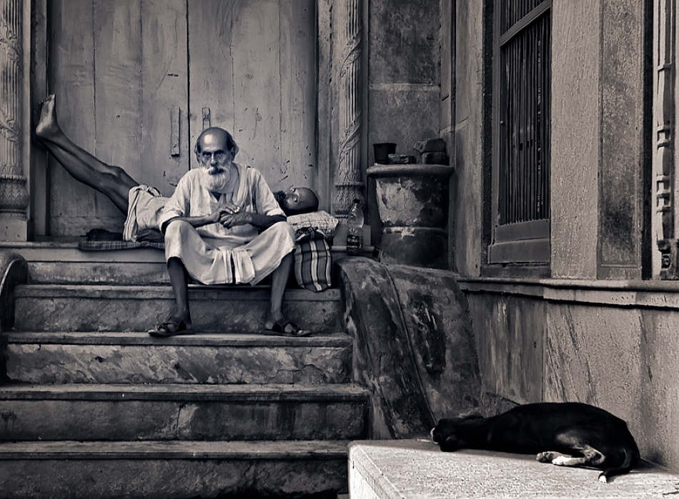 A piece of fine art art photography titled A Place to Rest by Prateek Dubey