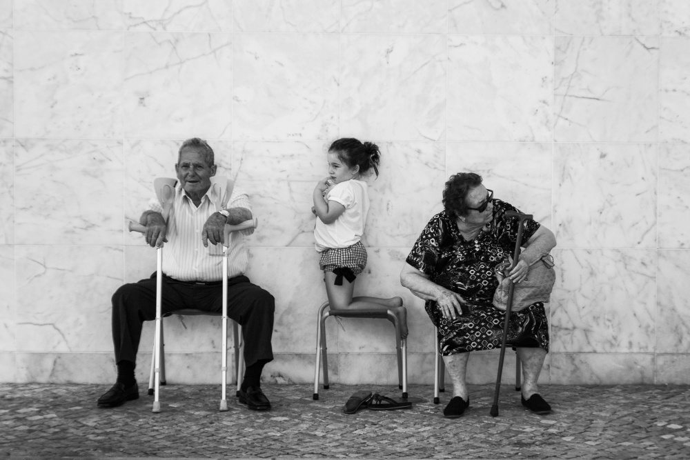A piece of fine art art photography titled The Waiting by Laura Mexia