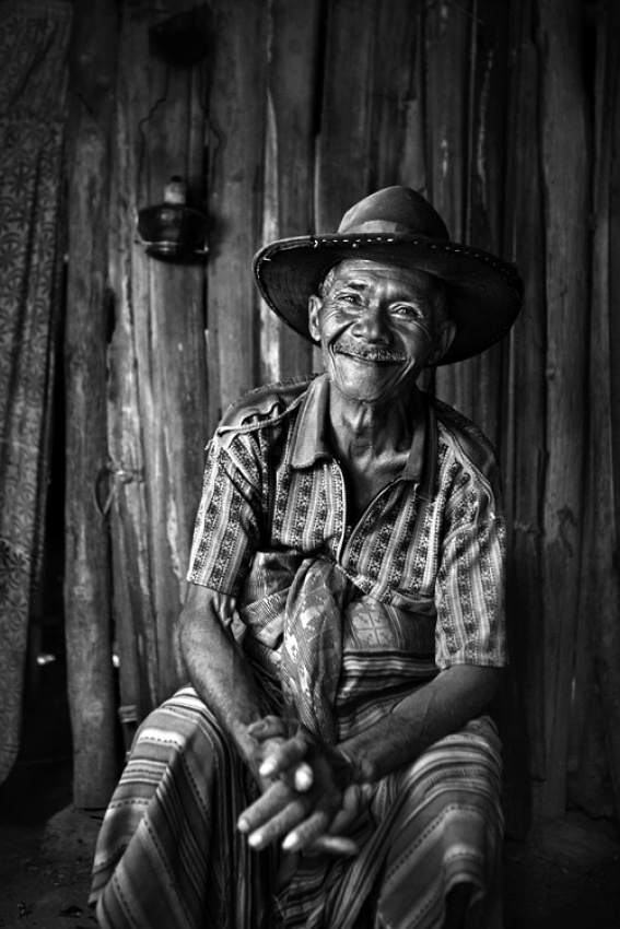 A piece of fine art art photography titled Cowboy by Mitchell Kanashkevich