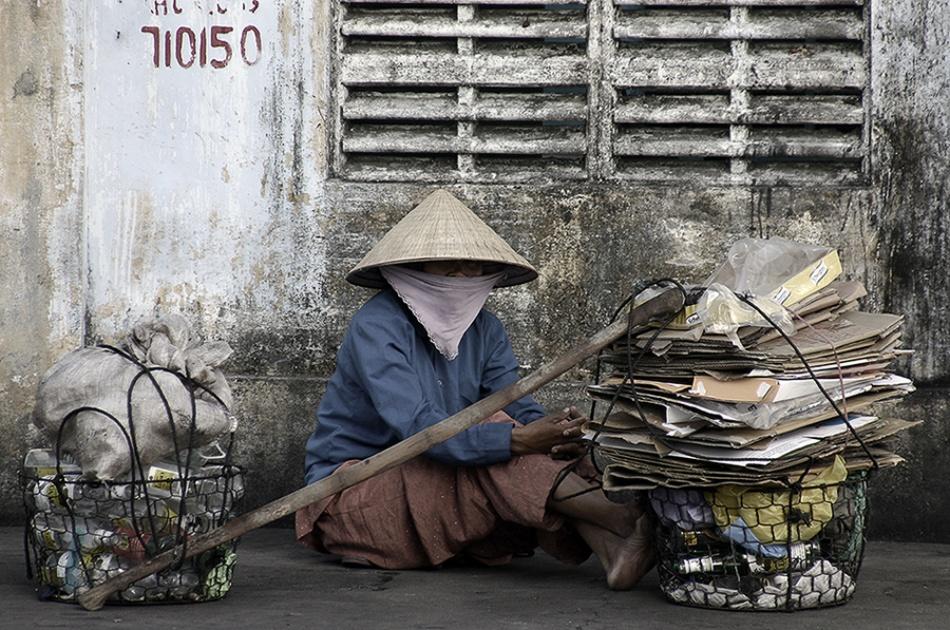 A piece of fine art art photography titled A Hard Life by Craig Martin