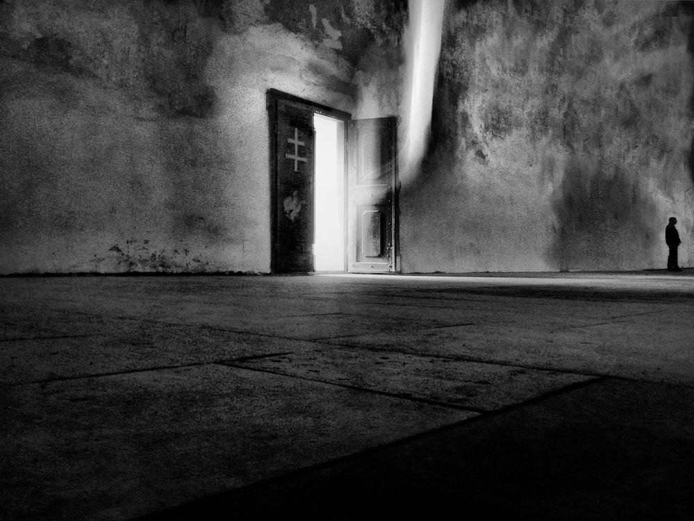 A piece of fine art art photography titled Ghost by Wojciech Pokora