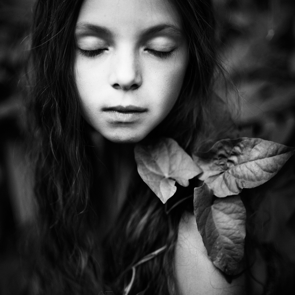 A piece of fine art art photography titled Silence by Magda Berny