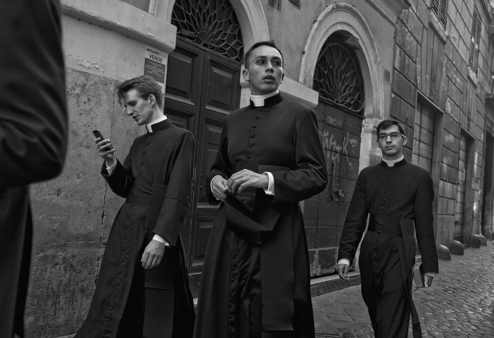 A piece of fine art art photography titled Holy Walk by Lorenzo Grifantini