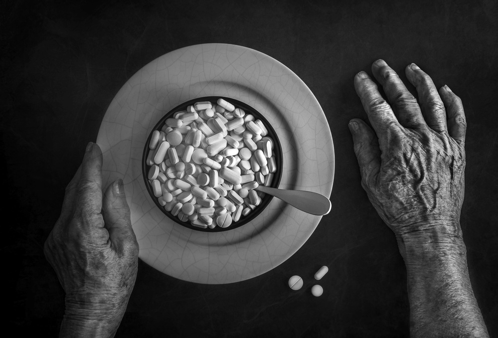 A piece of fine art art photography titled Life Expectancy by Stephen Clough