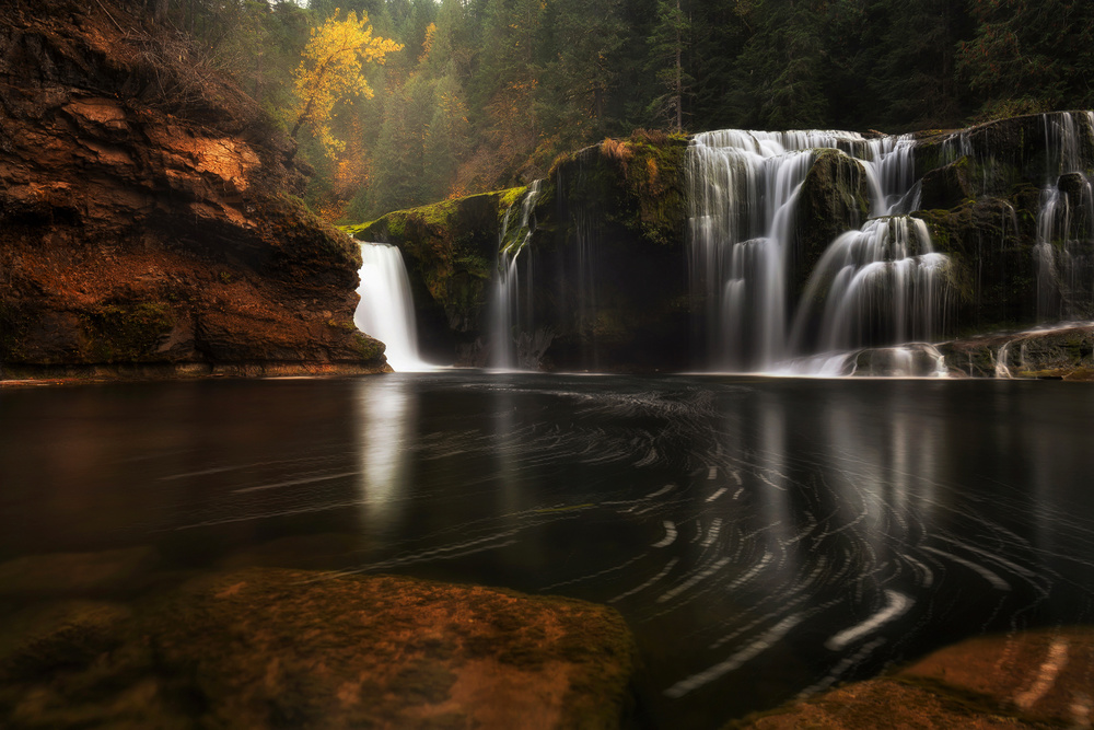 Lower Lewis River Fall