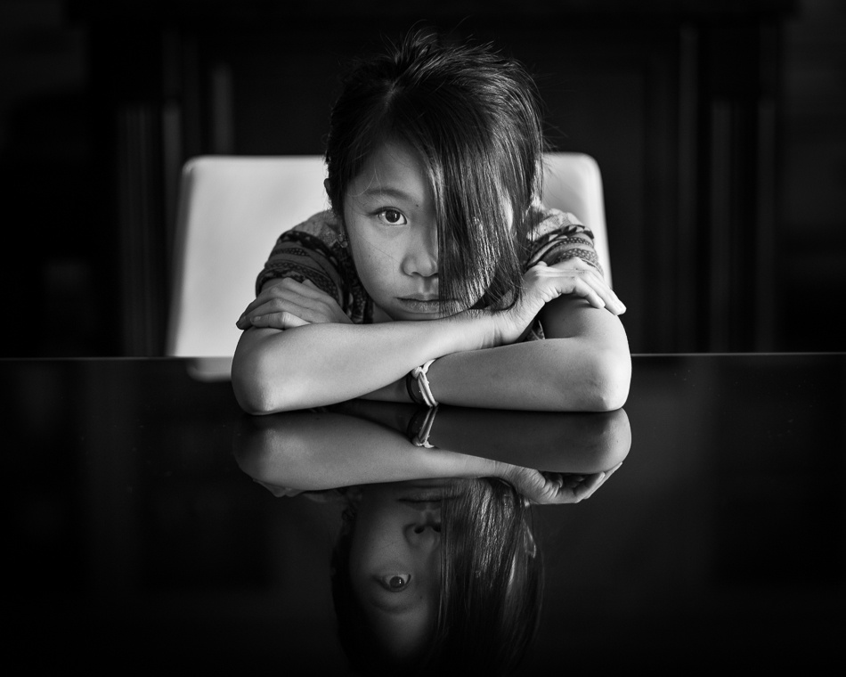 A piece of fine art art photography titled Reflections of Me by Kevin Ng
