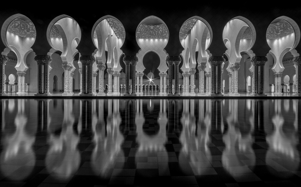 A piece of fine art art photography titled Oriental Night by Ahmed Thabet