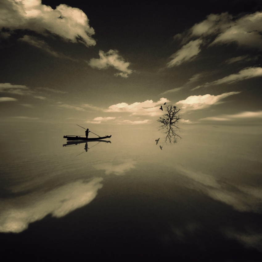 A piece of fine art art photography titled Dream Finder by arayo