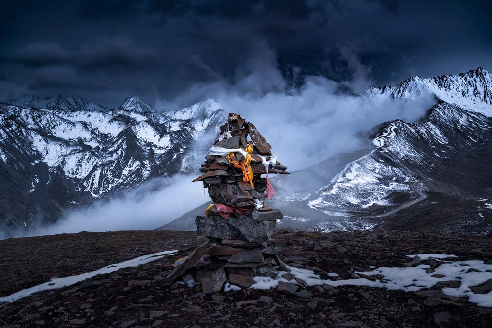 A piece of fine art art photography titled Marnyi Stone by Jingshu Zhu