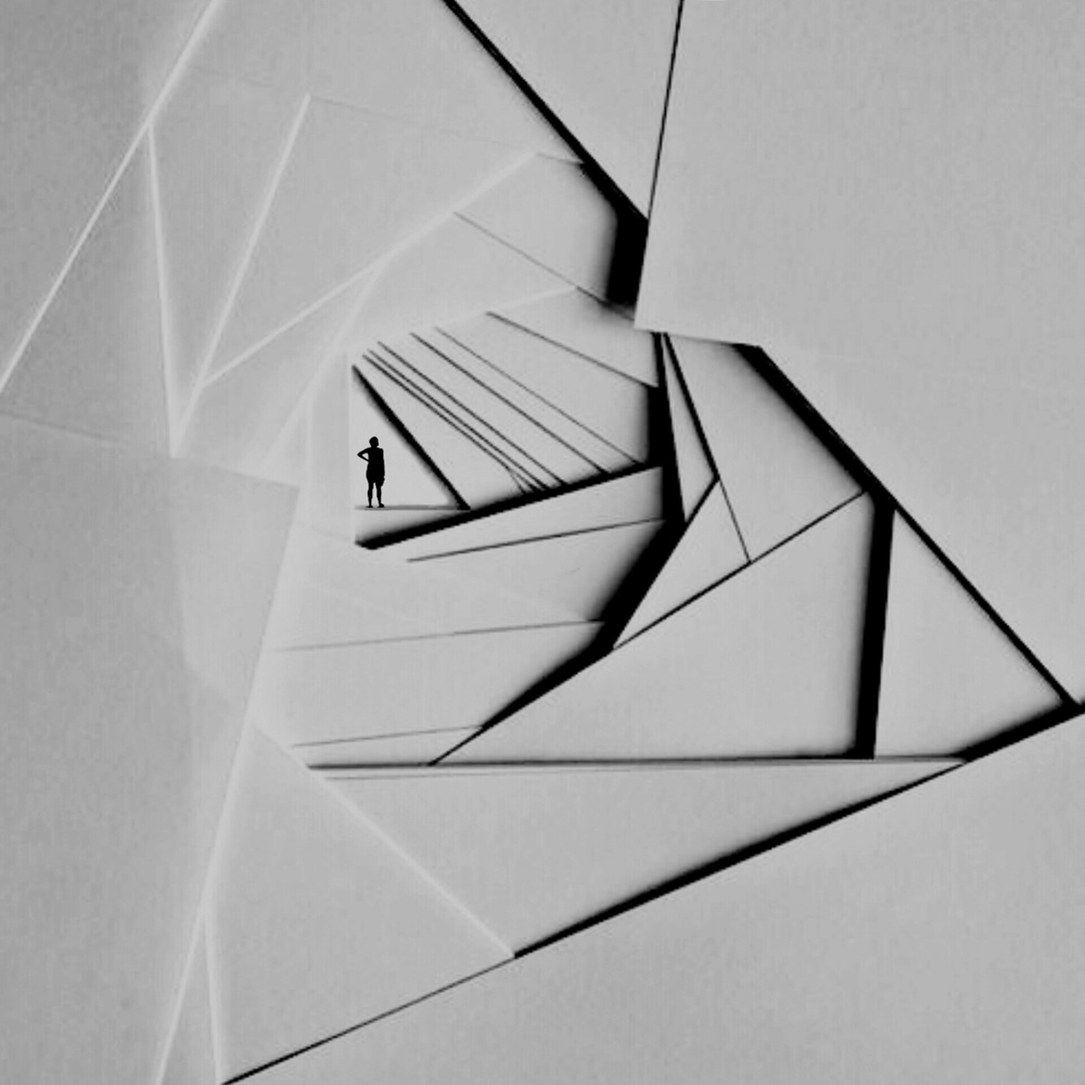 A piece of fine art art photography titled Trigonometry by Hadi Malijani