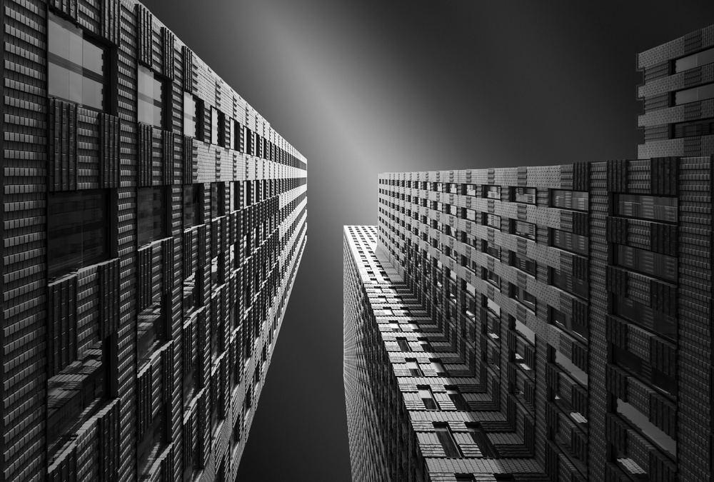 A piece of fine art art photography titled Harmonic Structures by Andre Struik