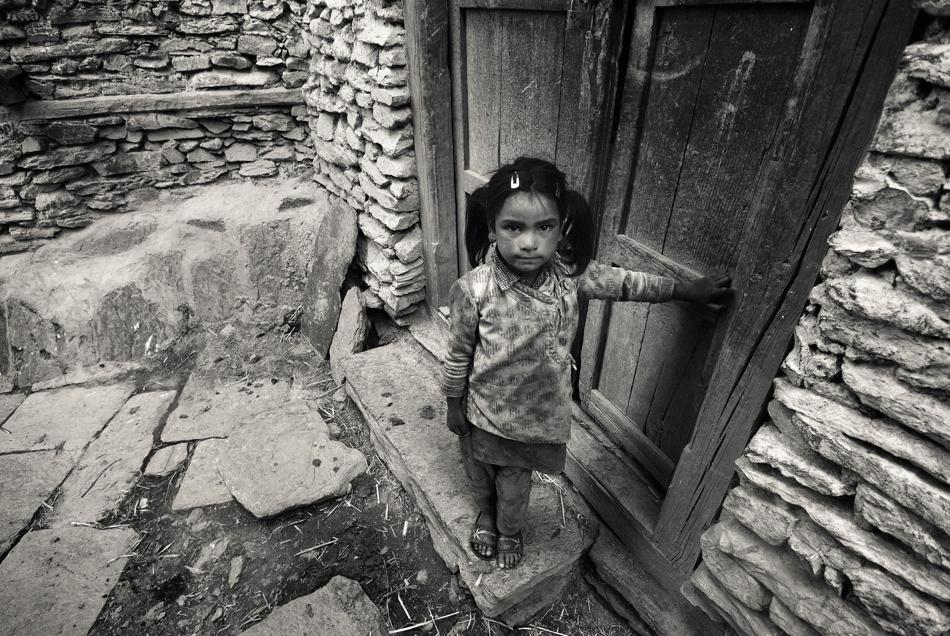 Nepali Street Girl