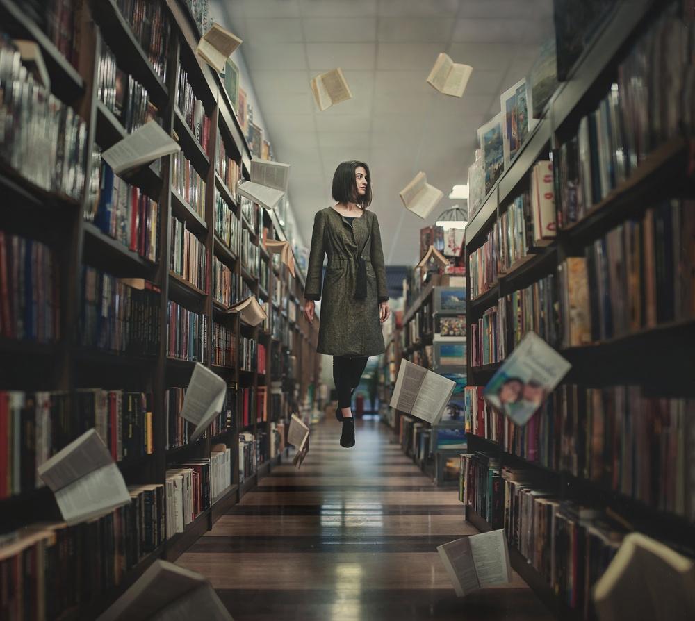 A piece of fine art art photography titled Unread Book by Alexandar Lazarov