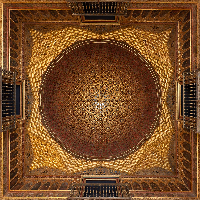A piece of fine art art photography titled Alcazar Real Perfection by Johan Nieuwerth