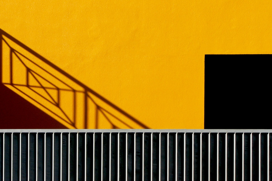 A piece of fine art art photography titled Balconies by Carlos da Costa Branco