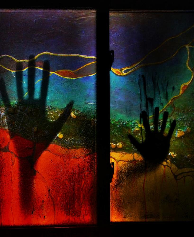 A piece of fine art art photography titled Shadows by Dalibor Davidovic