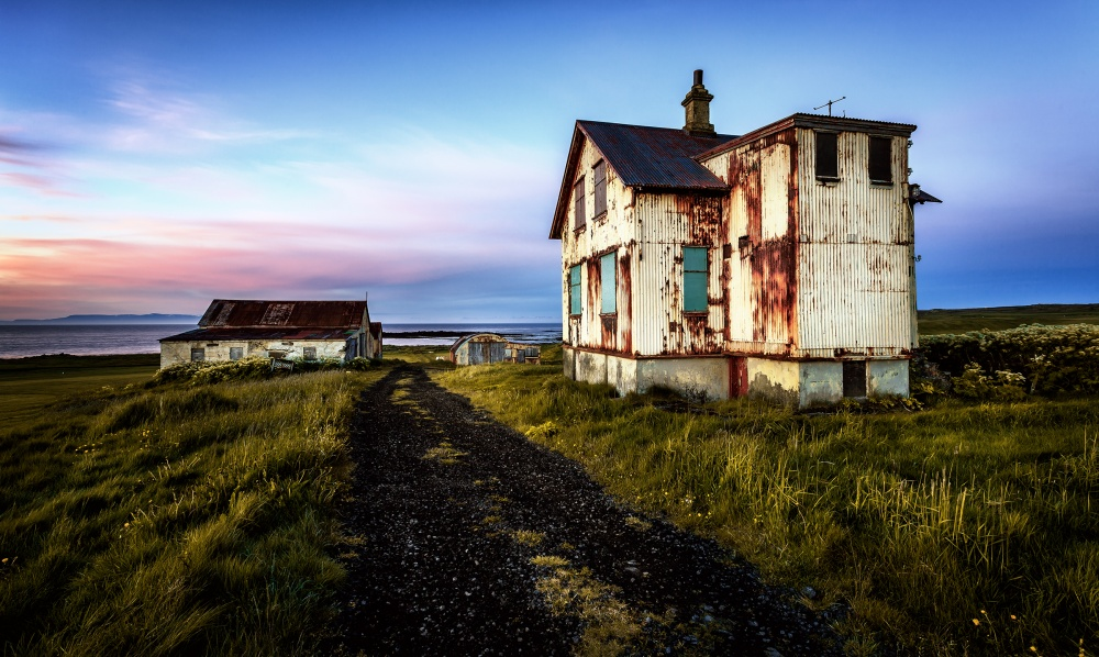 A piece of fine art art photography titled Abandoned #2 by Sus Bogaerts